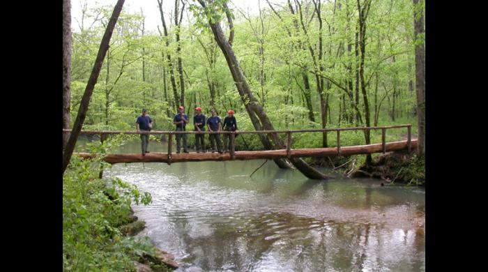 Bridge at the Walls of Jericho
