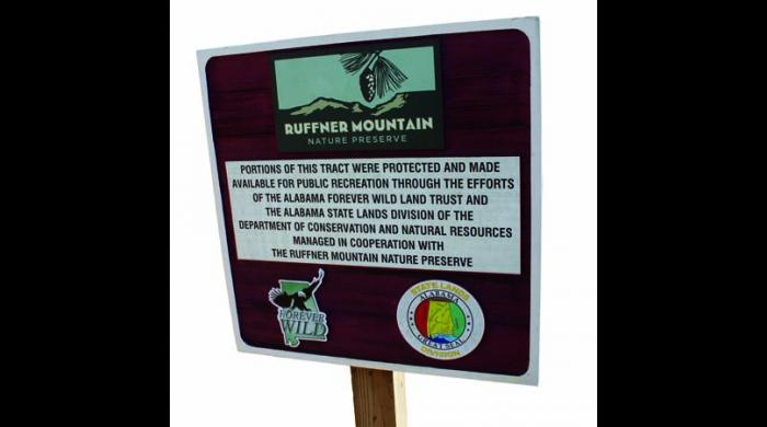 The tract is managed in cooperation with the Ruffner Mountain Nature Preserve