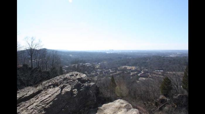 View from Ruffner Mountain