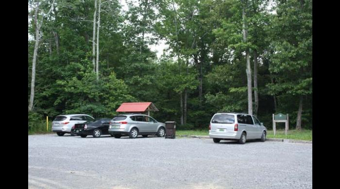 Walls of Jericho parking area
